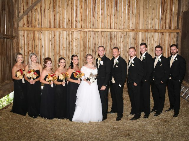 Angelina and Justin's wedding in Casselman, Ontario 64