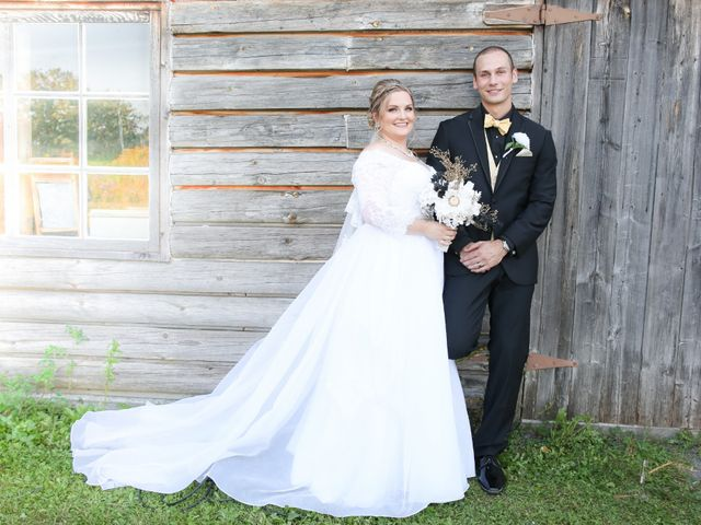 Angelina and Justin's wedding in Casselman, Ontario 76