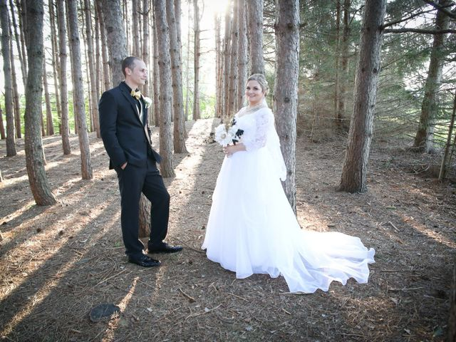 Angelina and Justin's wedding in Casselman, Ontario 100