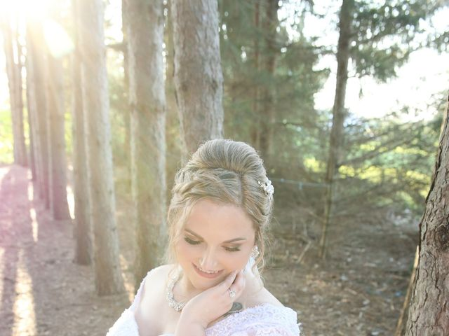 Angelina and Justin's wedding in Casselman, Ontario 1