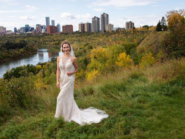 Scott and Alison's wedding in Edmonton, Alberta 1