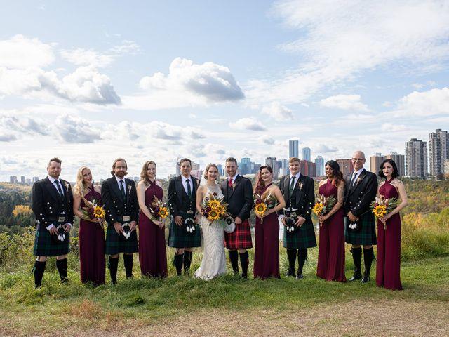 Scott and Alison's wedding in Edmonton, Alberta 19