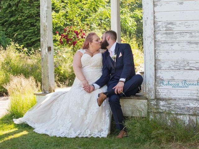 Michael  and Jenna 's wedding in Langley, British Columbia 1