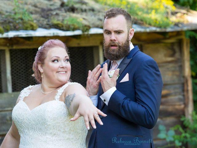 Michael  and Jenna 's wedding in Langley, British Columbia 2