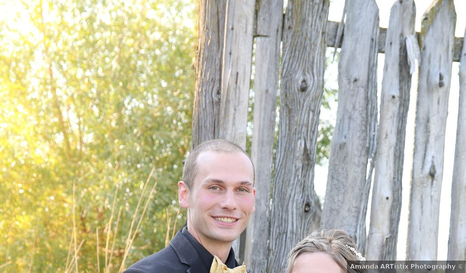 Angelina and Justin's wedding in Casselman, Ontario
