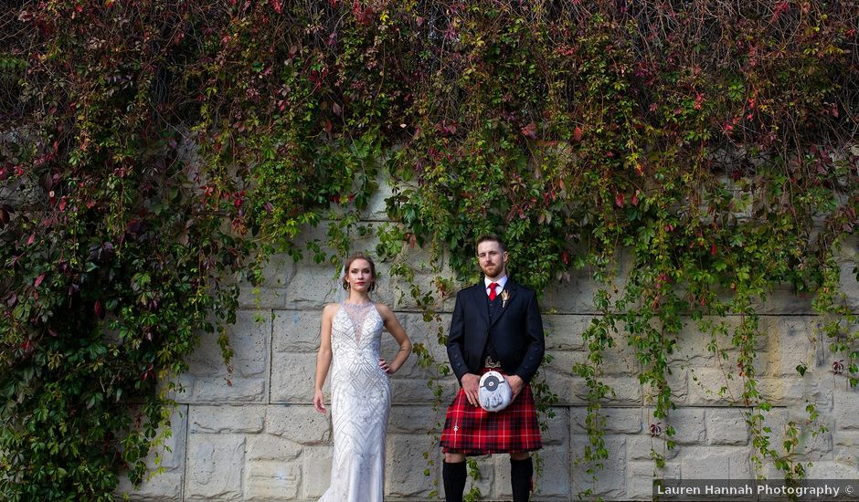Scott and Alison's wedding in Edmonton, Alberta