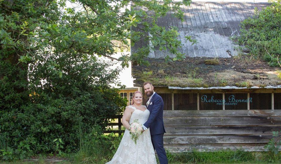 Michael  and Jenna 's wedding in Langley, British Columbia