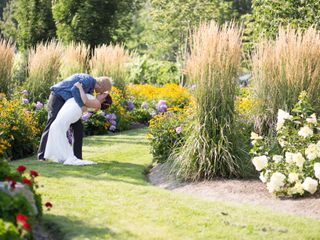 The wedding of Renae and Steve