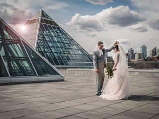 The wedding of Jennifer and Thomas