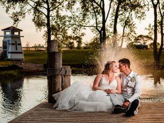 The wedding of Kayla and John
