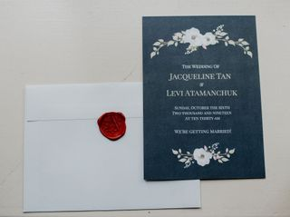 The wedding of Jaqueline and Levi 2