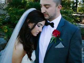 The wedding of Cass and Bernard
