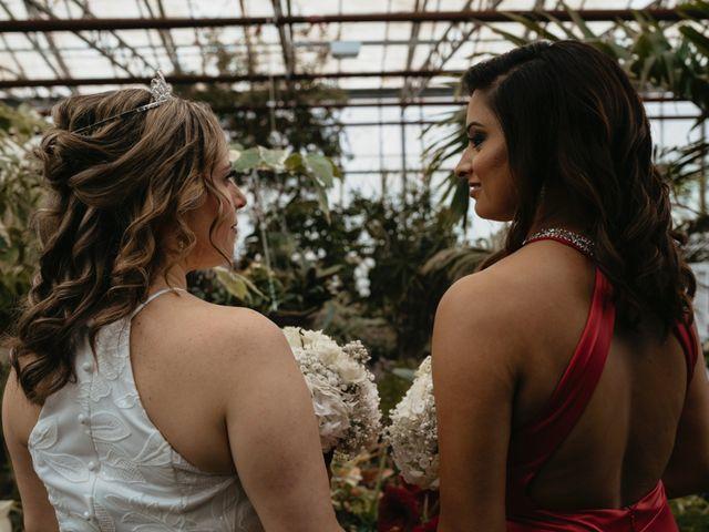The wedding of Anisha and Brianne