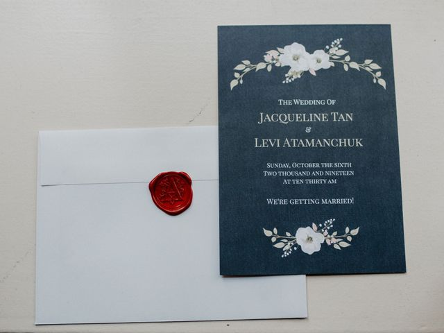Levi and Jaqueline's wedding in Vancouver, British Columbia 4
