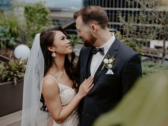 Levi and Jaqueline's wedding in Vancouver, British Columbia 17