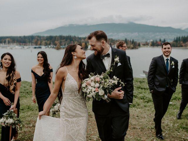 Levi and Jaqueline's wedding in Vancouver, British Columbia 21