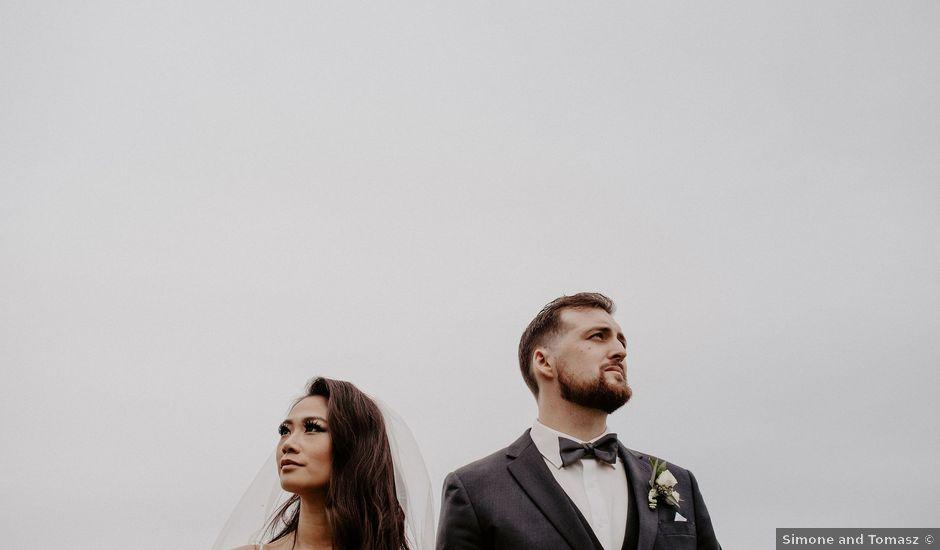 Levi and Jaqueline's wedding in Vancouver, British Columbia