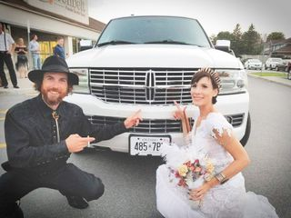 The wedding of Allene and Craig
