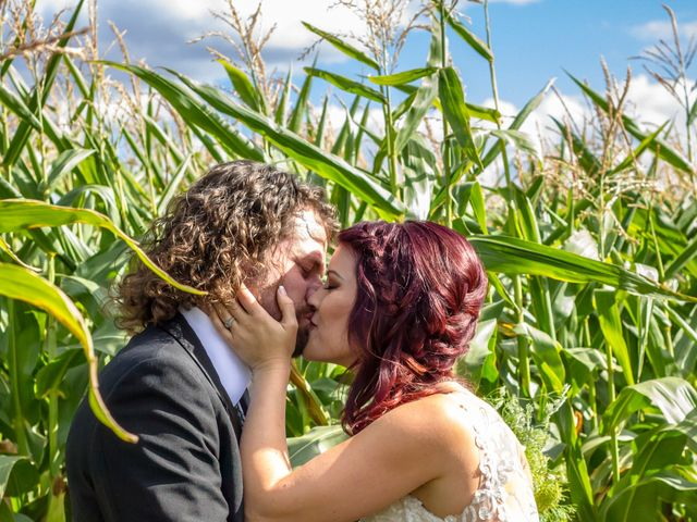 The wedding of Kelly-Leigh and Jordan