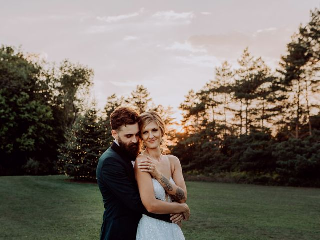 The wedding of Lindsay and Stefan