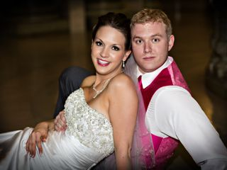 The wedding of Vanessa and Matthew