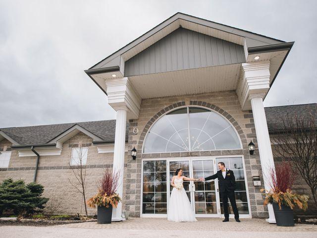 Brad and Pam's wedding in Orillia, Ontario 4