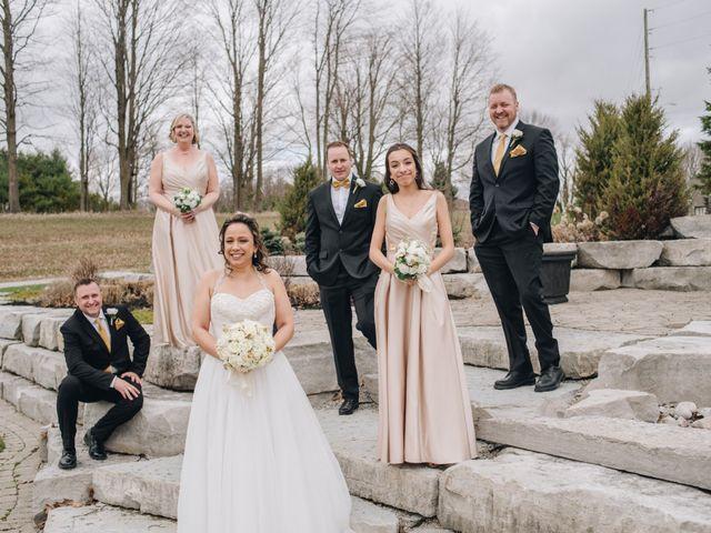 Brad and Pam's wedding in Orillia, Ontario 18
