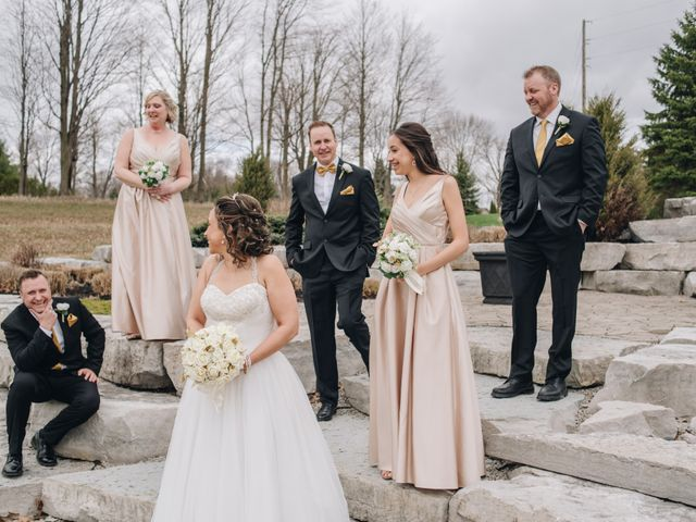 Brad and Pam's wedding in Orillia, Ontario 19