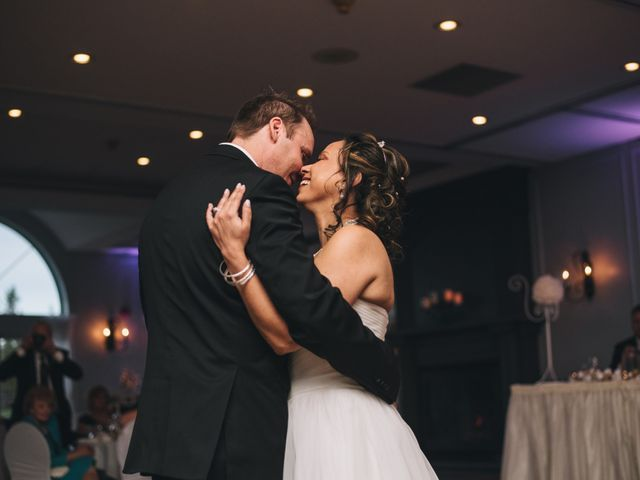 Brad and Pam's wedding in Orillia, Ontario 25
