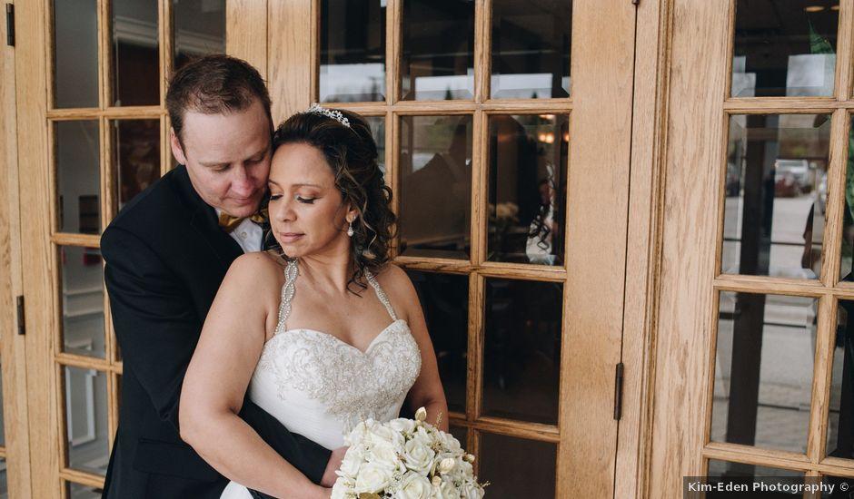 Brad and Pam's wedding in Orillia, Ontario