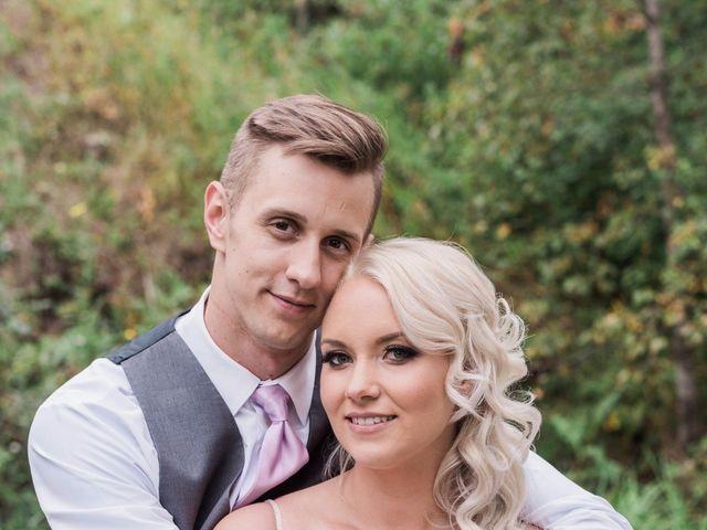 The wedding of Cheyenne and Dalton