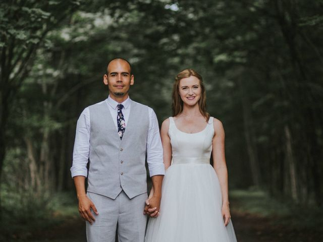 The wedding of Jessica and Daniel