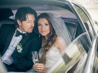 The wedding of Ashley and Brad
