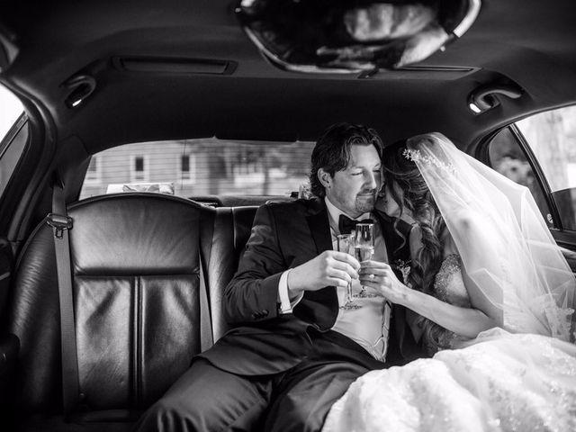 Brad and Ashley's wedding in Toronto, Ontario 12