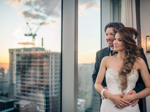 Brad and Ashley's wedding in Toronto, Ontario 2