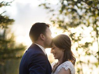 The wedding of Rachel and Crispin