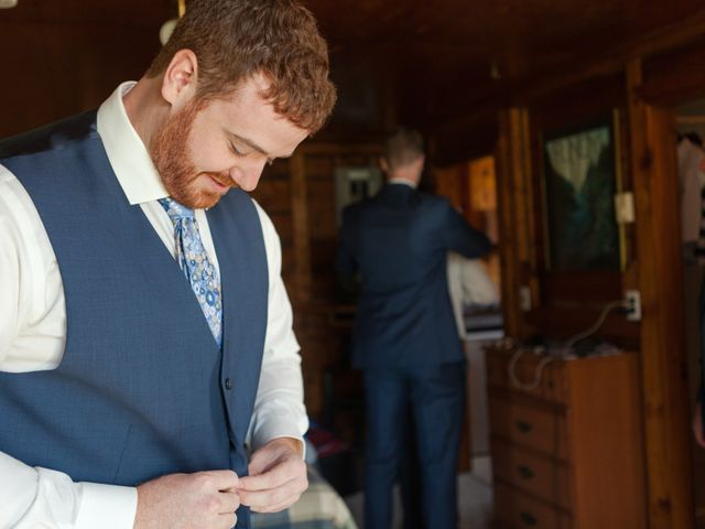 Andrew and Emily's wedding in Alma, New Brunswick 9