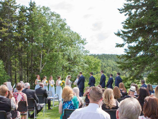 Andrew and Emily's wedding in Alma, New Brunswick 1