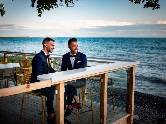 Glenn and Joe's wedding in Prince Edward County, Ontario 2