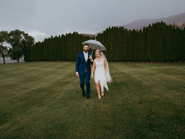 Nick and Stephanie's wedding in Kelowna, British Columbia 1