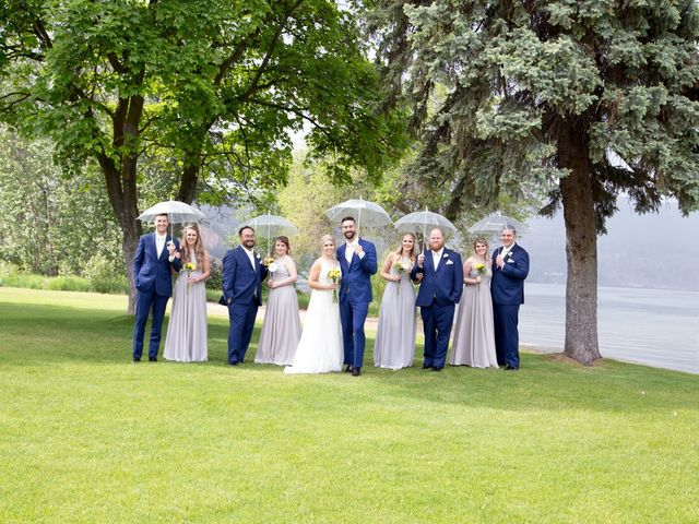 Nick and Stephanie's wedding in Kelowna, British Columbia 4