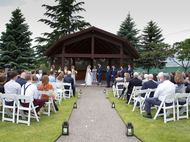 Nick and Stephanie's wedding in Kelowna, British Columbia 7