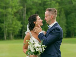 The wedding of Madison and Christian