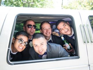 The wedding of Millcent and Justin 1