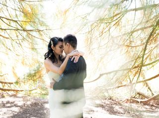 The wedding of Millcent and Justin