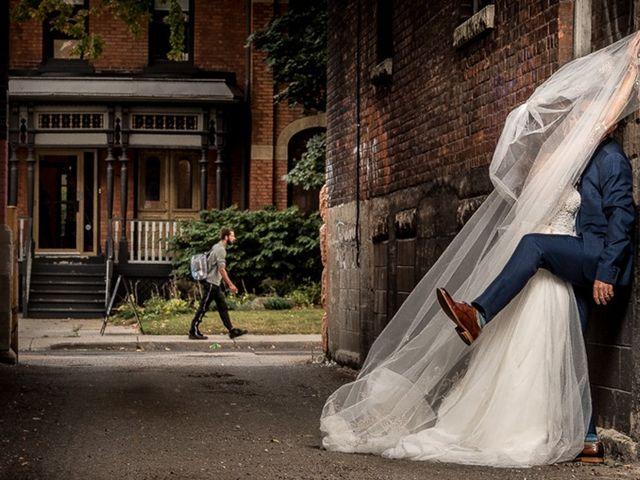 The wedding of Rob and Sarah