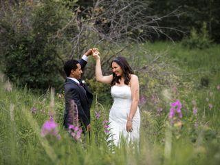 The wedding of Tynisha and Nathan