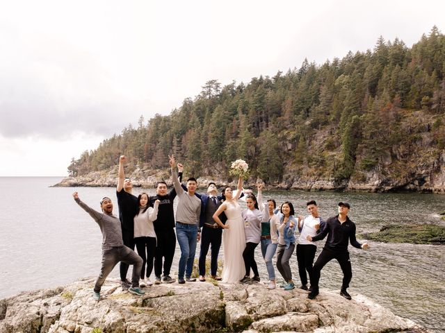 Anthony and Olivia's wedding in Vancouver, British Columbia 16