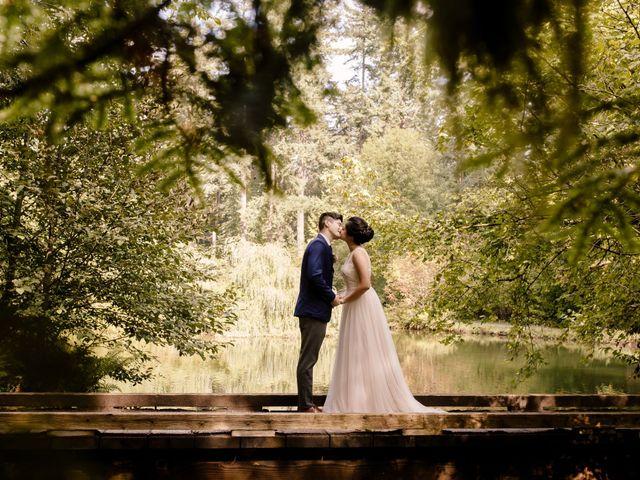 The wedding of Olivia and Anthony