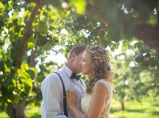 The wedding of Allysha and Trevor